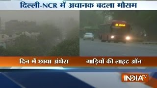 Delhi Has Finally Witnessed Some Thunderstorm and Wind Storm