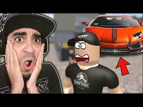 تدمير سيارة بسعر 100,000,000 دولار في لعبة روبلوكس 😱❌   Roblox