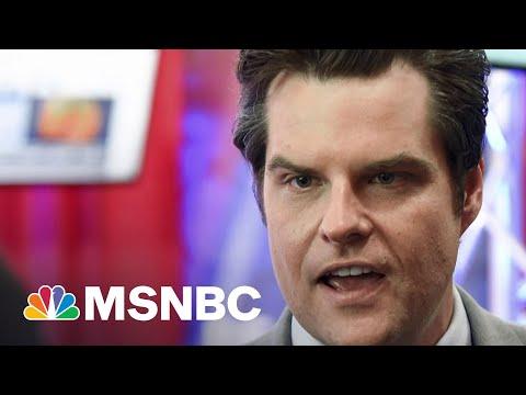DOJ Investigating Rep. Gaetz For Possible Sex Trafficking | MTP Daily | MSNBC