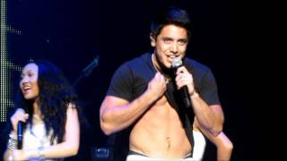 Stefano Langone performs DJ Got Us Falling In Love Again *SHIRTLESS* - 8-24-11
