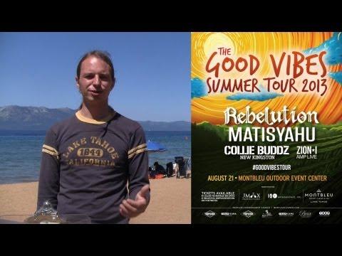 August 2013 Concerts In Tahoe: Mountain Vibe Music Festival, Rebelution, Brad Paisley, Judy Tenuta