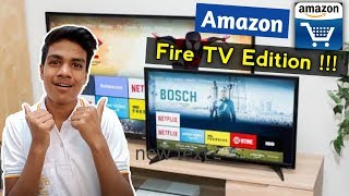 Amazon Fire TV Edition | Features & Reviews | Full Details In Hindi | Amazon Smart TV Launch