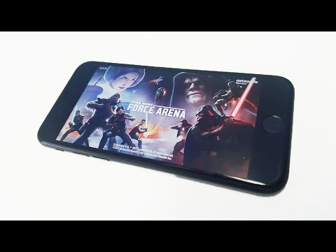 Star Wars Force Arena Iphone 7 Gameplay - Fliptroniks.com