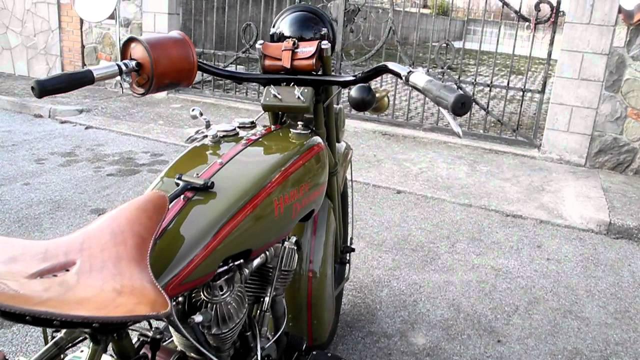 1928 Harley Davidson Ba Single: Harley Davidson J 1000