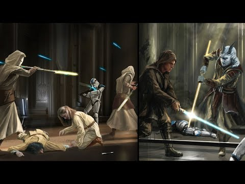 Inside the Jedi Temple During Order 66 [Legends] - Star Wars Explained