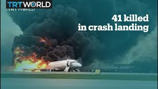 41 people killed in Russian plane crash