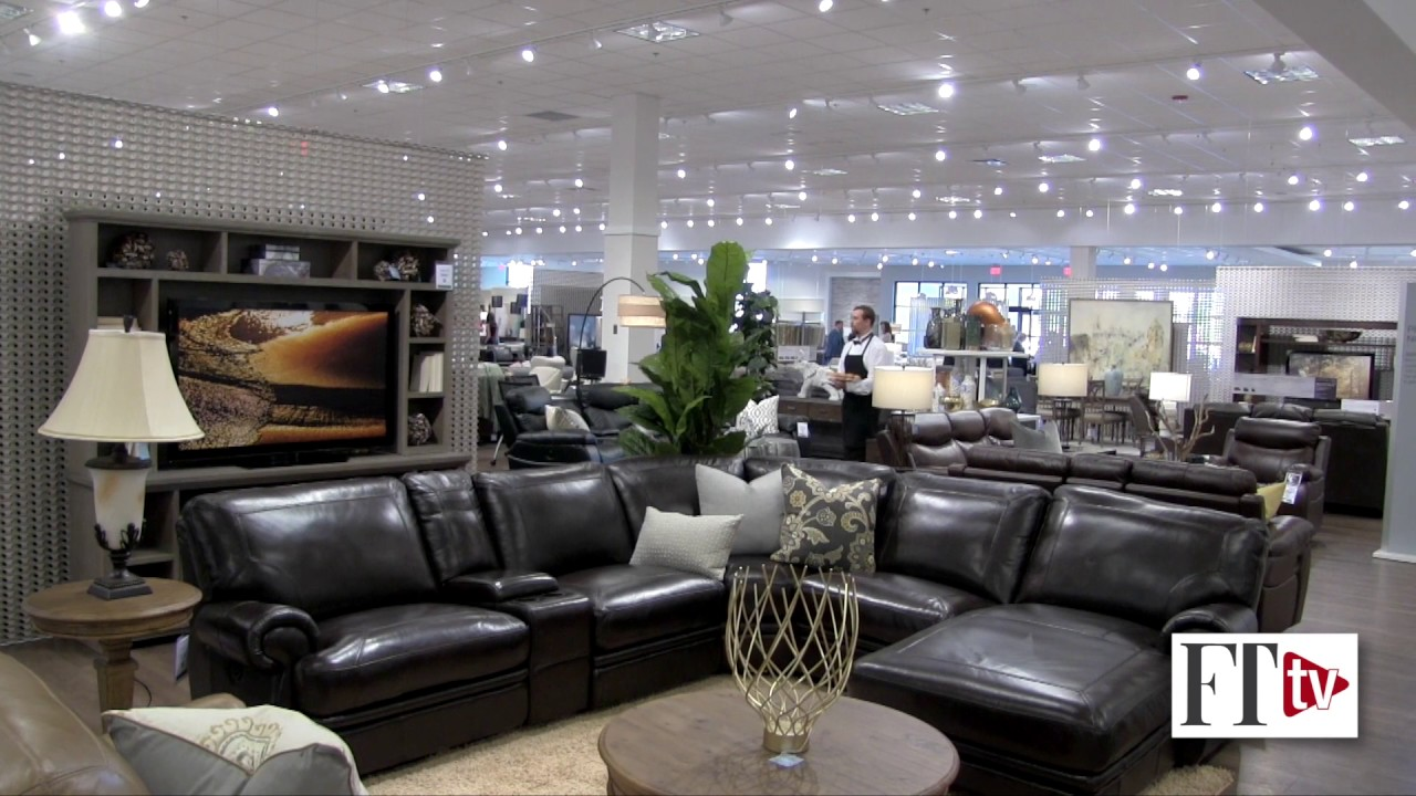 Havertys\' new Greensboro store prototypes several innovations - YouTube
