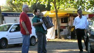 Carlos Rodrigues y o seu acordeom 28 de Agosto 2011