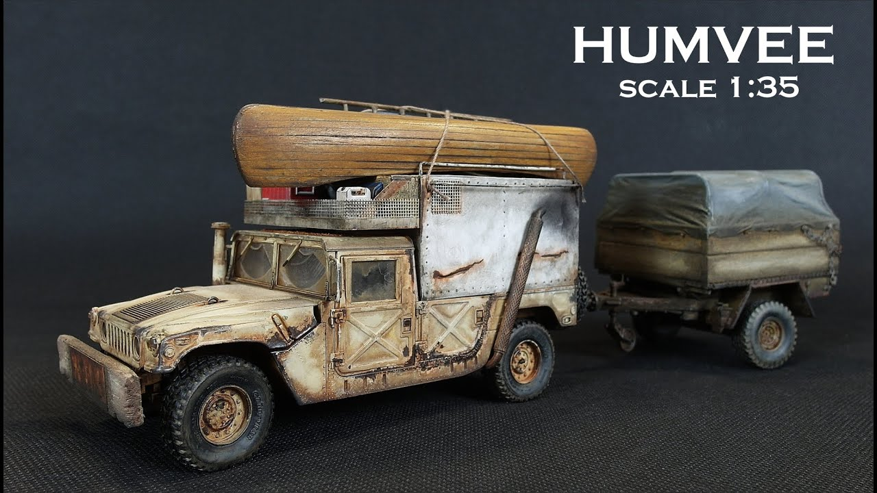 Humvee M1025 scale 1:35 / Hummer H1