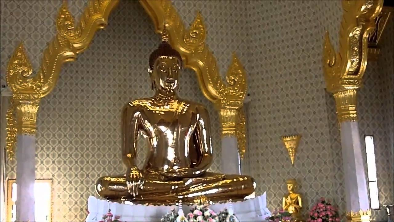 Temple of the Golden Buddha (Wat Traimit), Bangkok - YouTube