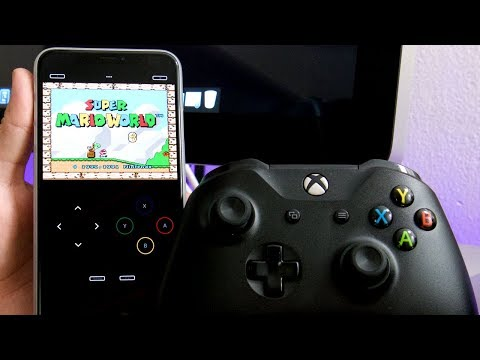 How To Use A XBOX ONE CONTROLLER To Play EMULATORS On iPhone