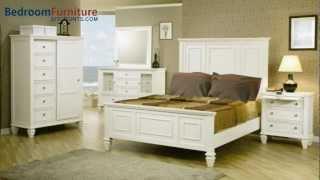 Coaster Sandy Beach Panel Bedroom Set