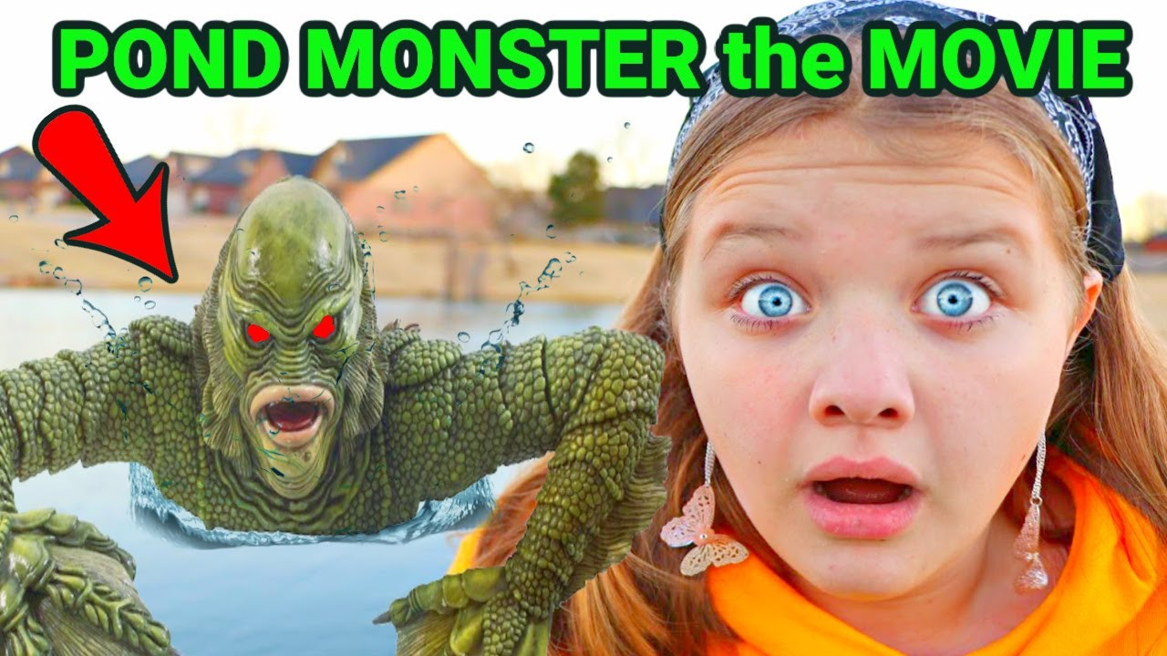 POND MONSTER the MOVIE! POND MONSTER REWIND! ATTACK of the VILLAINS!