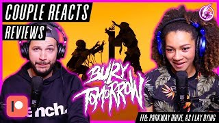 """COUPLE REACTS - Bury Tomorrow """"Black Flame"""" - REACTION / REVIEW (Patreon Request)"""