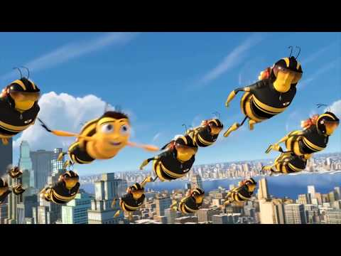 Bee movie trailer but all screaming is replaced with the wilhelm scream