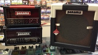 Panama Guitar Amps in Denver.A first look at The Conqueror 5w  and The  Shaman 20w.