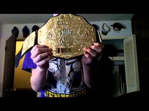 WWE Mattel Toy World Heavyweight Championship review - YouTube