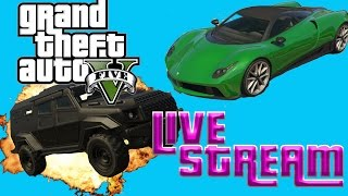 GTA 5 CRAZY RACES AND JOBS WITH THE CREW LETS DO THIS!!!(GTA 5 ONLINE FUN)