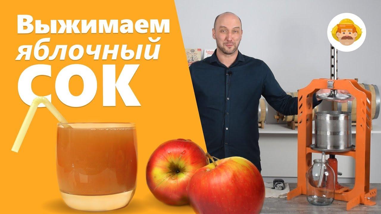 как выжать сок из яблок