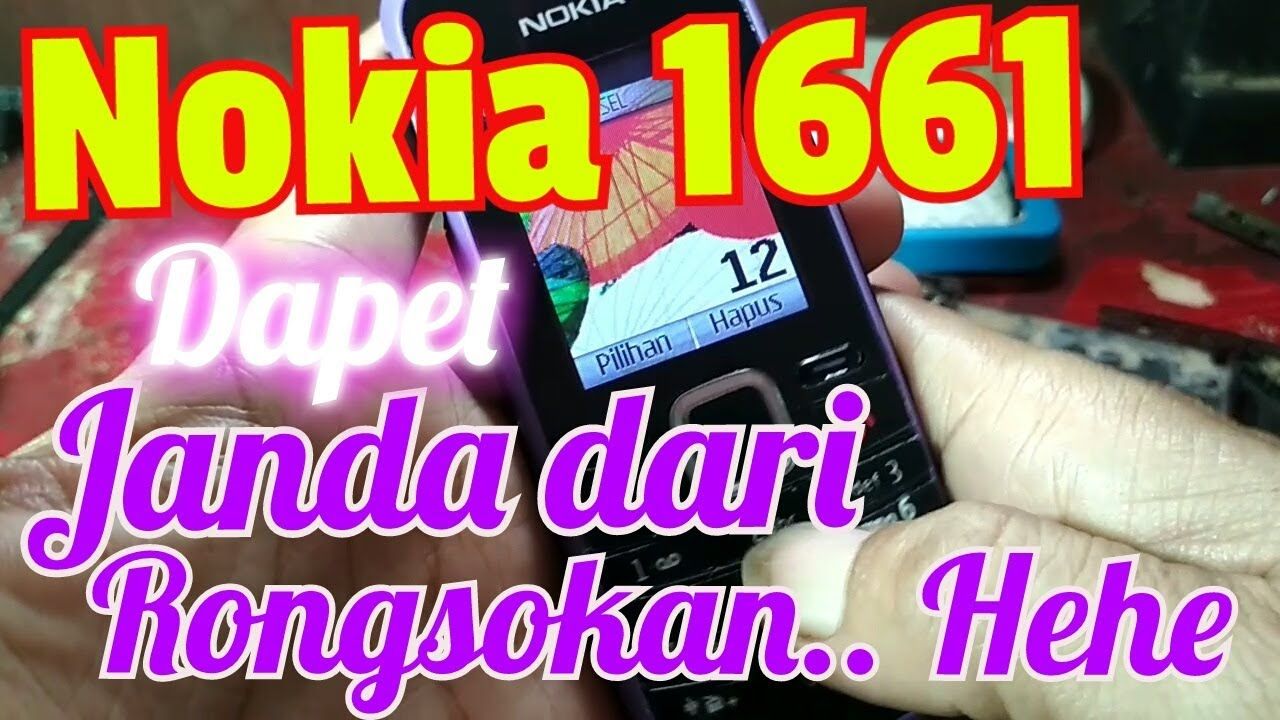 Nokia 1661 Mati Total Dead Solutions Edisi Hp Rongsokan Youtube