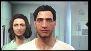 Fallout 4 Gameplay Walkthrough Part 1 E3 2015 Demo | (PS4/Xbox One/PC)  customize character
