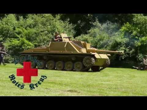 German Army Field Hospital At Peoria 2016