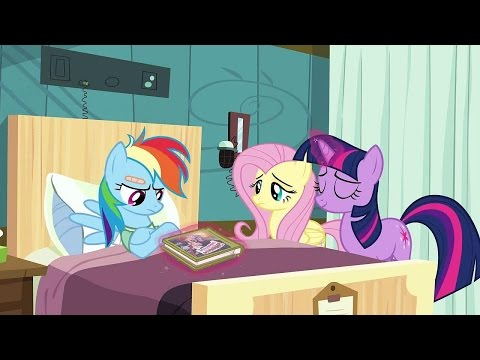 Blind Reaction to: MLP FiM 'Read it and Weep' S2 Ep16