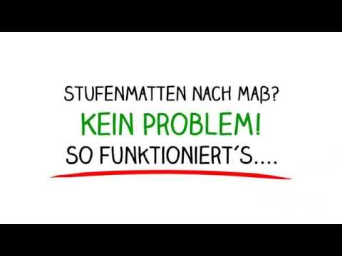 stufenmatten nach ma youtube. Black Bedroom Furniture Sets. Home Design Ideas