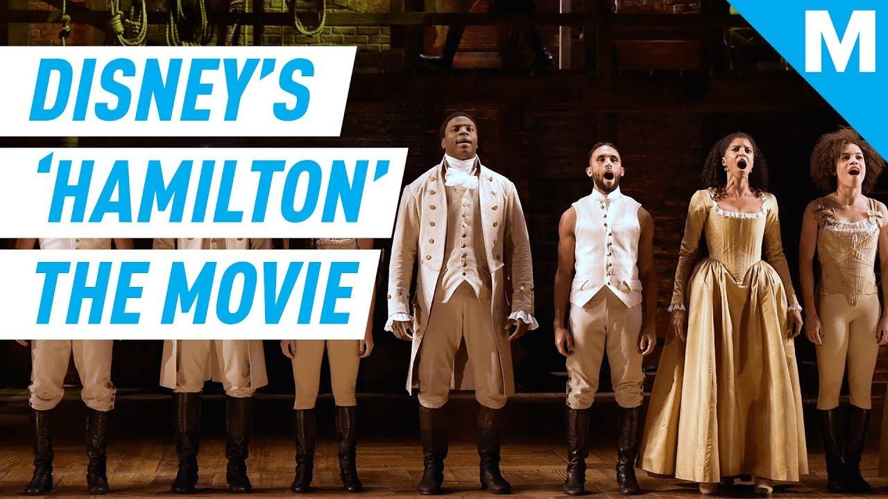 Disney Making Hamilton Movie In 2021 Mashable News Youtube