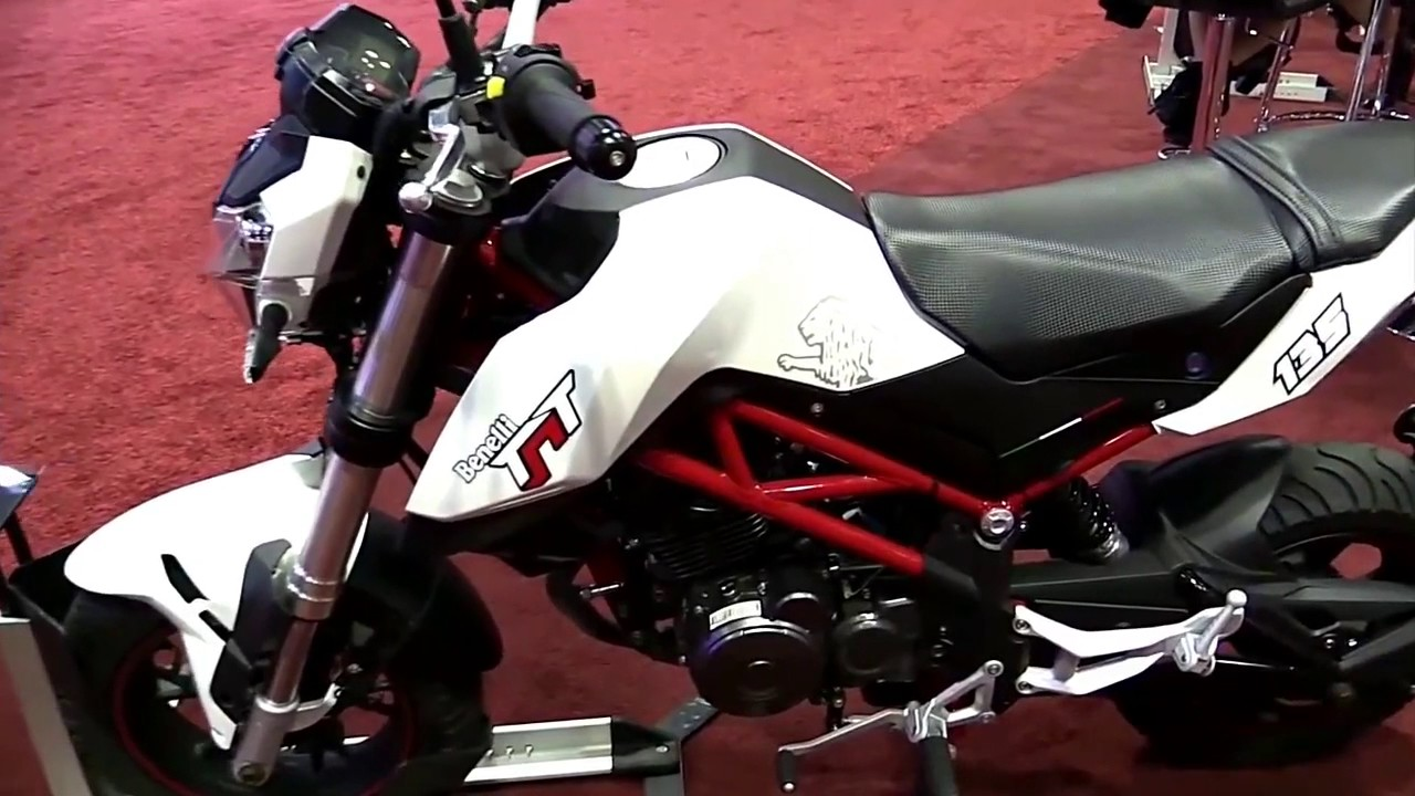 2017 Benelli TNT 135 Limited Edition Walkaround Review