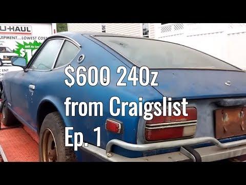 $600 Datsun 240z On Craigslist - Datsun 240z Restoration Part 1