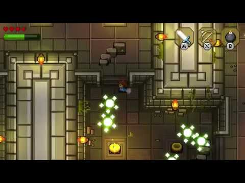 Blossom Tales: The Sleeping King - Running around the first dungeon