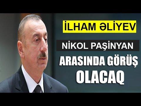 İlham Əliyev və Nikol Paşinyan arasında görüş olacaq