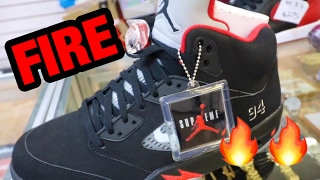 THEY HAD FIRE SNEAKERS AND I FOUND THE ONES I