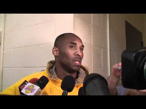 Lakers Guard Kobe Bryant On Why He Doesnt Care About Regular Season Mvp Award