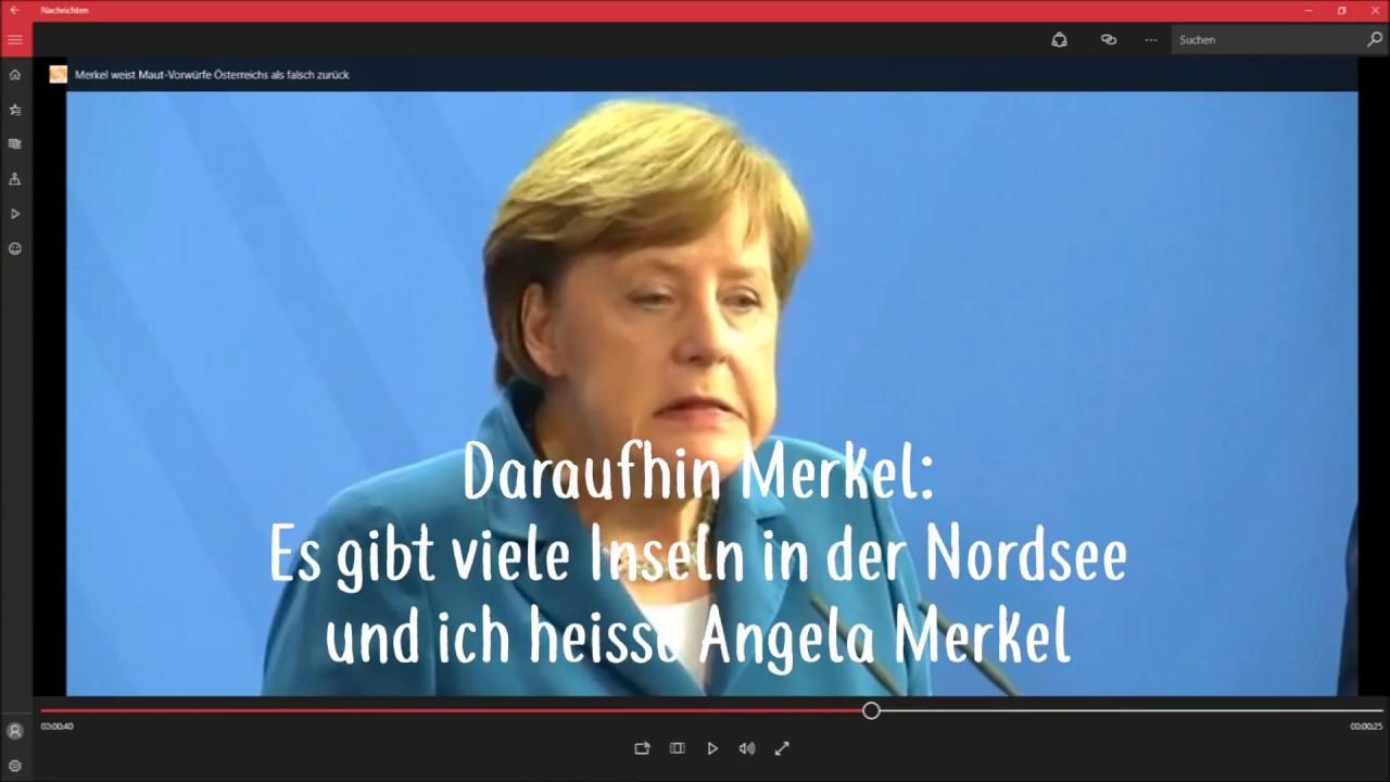 Die 5 besten Witze Folge 2 diesmal mit: Angela Merkel
