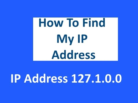 how to find my public ip address windows 7