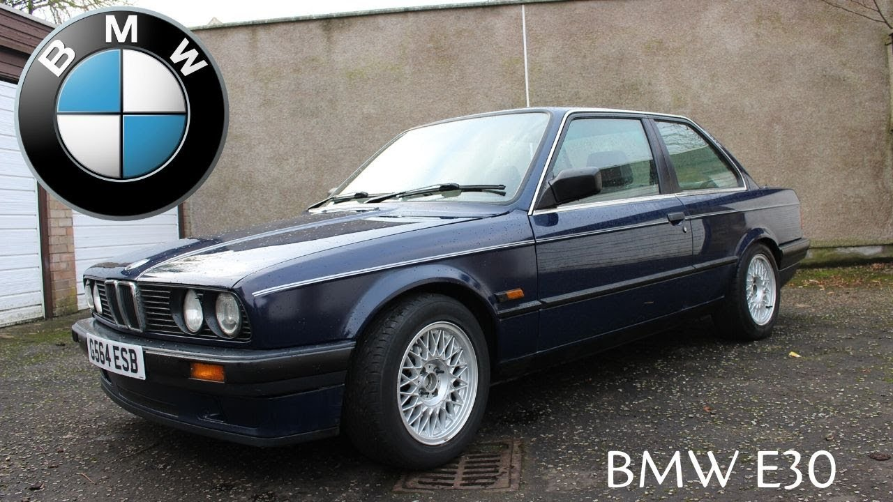 1990 Bmw 316i E30 In Depth Tour 3 Series Coupe Cars Of Glasgow Youtube