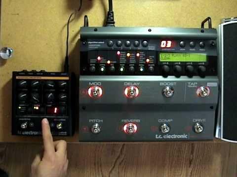 Tc Electronic Nova System Amp Nova Drive Midi Youtube