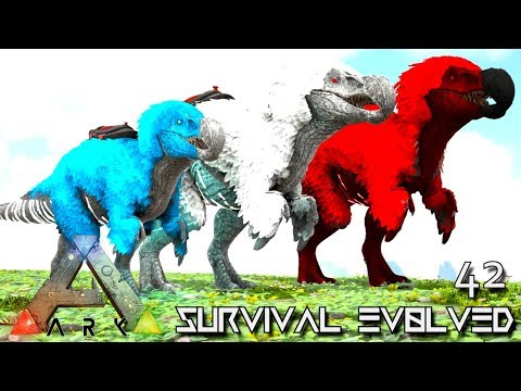 ARK: SURVIVAL EVOLVED: ALPHA DODOREXY & GIGANOTOSAURUS TAME E42 !!! ( ARK EXTINCTION CORE MODDED )