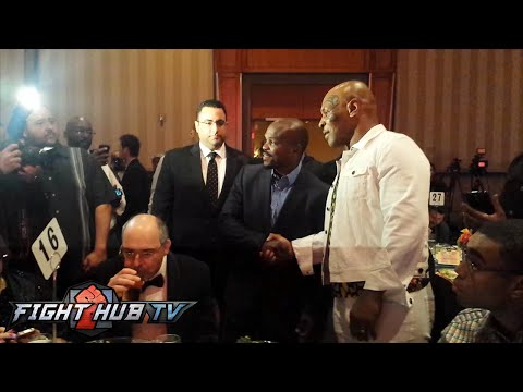The one time Timothy Bradley met Mike Tyson for dinner