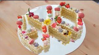 Letter Cake EXO ( Alphabet Cake )