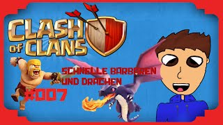 Let´s Play Clash of Clans #007 II Rekordzeit Barbaren in 4 Sek II - Worio -