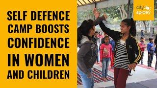 Self-defence training instills hope in women & kids