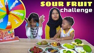 Mystery wheel of Sour Fruit Challenge sampai nangis