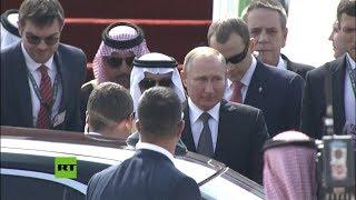 Putin llega a Arabia Saudita por primera vez desde 2007