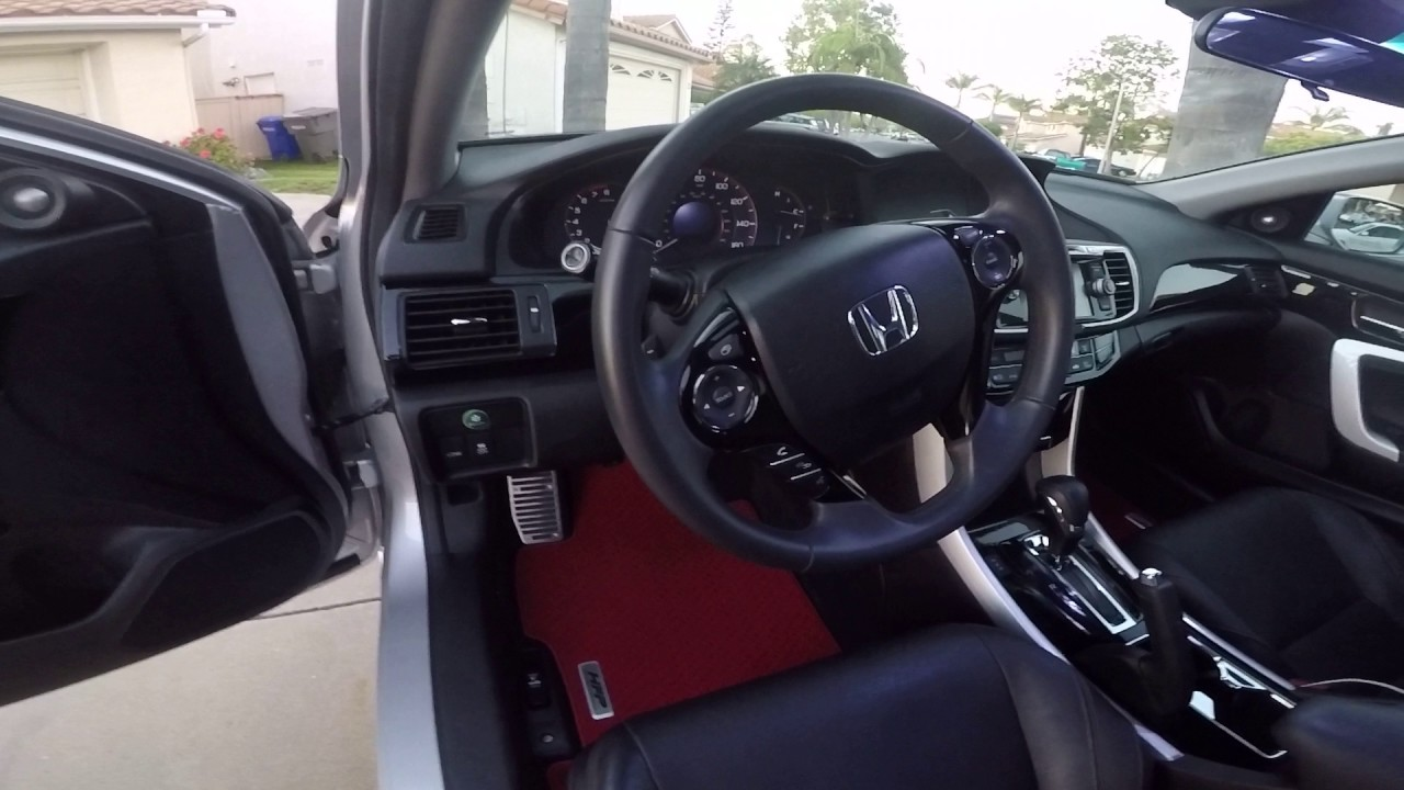 9Th Gen Accord >> 2013 Honda Accord coupe 4 cyl 9th gen mods - YouTube