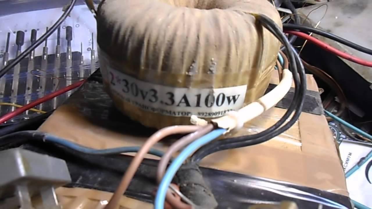 усилитель мощности irfp9240 схема