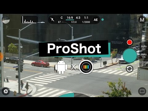 ProShot for Android (New!)