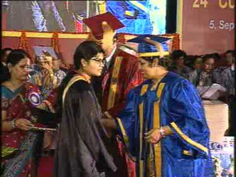 IGNOU's 24th convocation on September 5, 2011